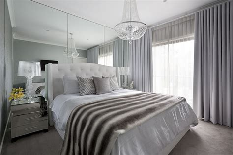 bedroom ceiling mirror floor to ceiling mirrors transitional bedroom adore