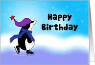 skating birthday cards from greeting card universe