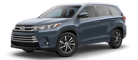highlander colors 2017 toyota highlander exterior colors and trims