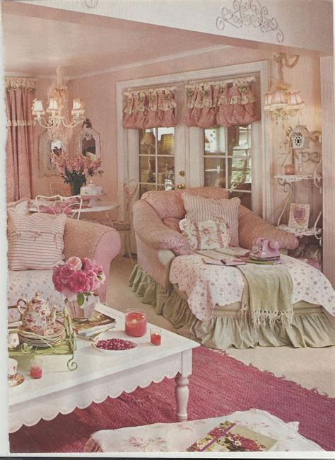 Pink Living Room Images Country Pink Living Room Pictures Photos And Images For
