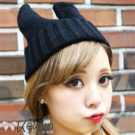 Piyama Wanita Big Size Molang Blue navy blue bunny ear beanie hat 183 kekiko 183 kawaii items to bring out the adorableness in you