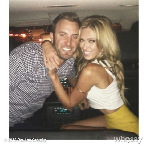 how to get your wife to swing video paulina gretzky learns golf from husband dustin