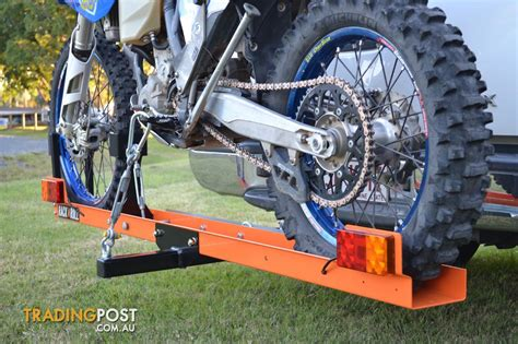 Motorcycle Tow Rack by Rack N Roll Motorcycle Carrier 100 Australian Made