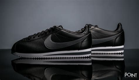 Nike Cortez Black Grey Original Sneaker For Mens shop nike classic cortez leather black grey at the sneakers shop thepoint es