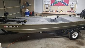 bass boat conversion jon boat to bass boat conversion