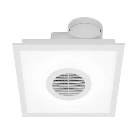 square bathroom exhaust fan with light mercator skyline square exhaust fan with light universal