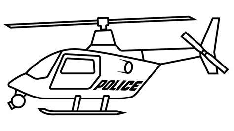 aneka gambar mewarnai helikopter  anak paud  tk