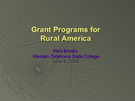 Funding Opportunities For Mba Programs In Usa by Grant Programs For Rural Education