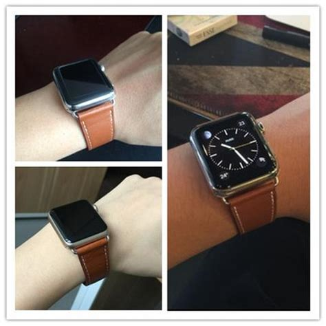Apple Watchband Hermess Singel Tour Premium Genuine Leather live show of hoco s 3in1 apple hermes bands single tour and cuff tips flow