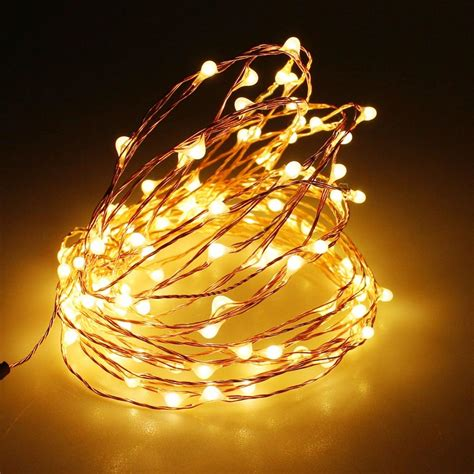cheap 3aa battery powered 4m 40 led strip copper wire