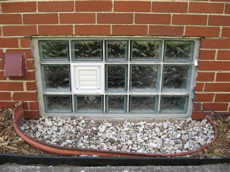 doors windows glass block basement windows
