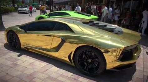 Gold Plated Lamborghini Aventador Price In Photos Most Beautiful Gold Plated Cars Auto Chunk
