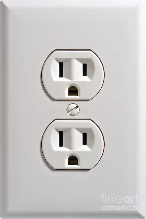 With Outlets by Electrical Outlet Photograph By Olivier Le Queinec