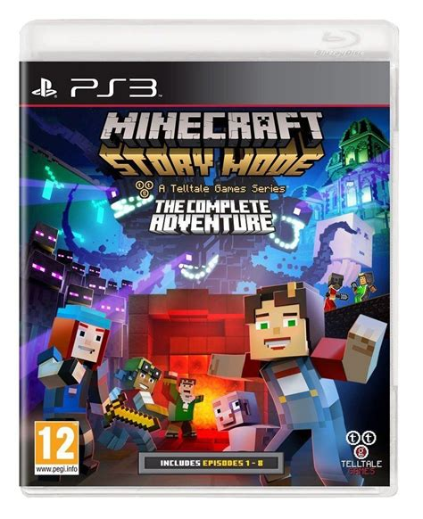 Kaset Ps4 Minecfart Story Mode The Complete Adventure Murah minecraft story mode complete adventure ps3