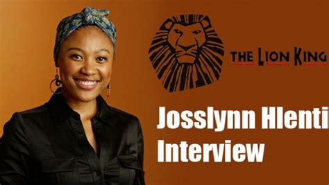 lion film melbourne josslynn hlenti interview nala from the lion king