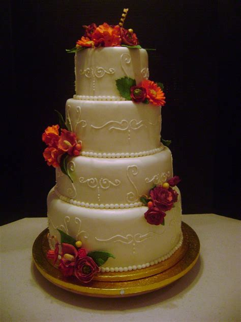 Wedding Tier Cake by Marymel Cakes 4 Tier Wedding Cake