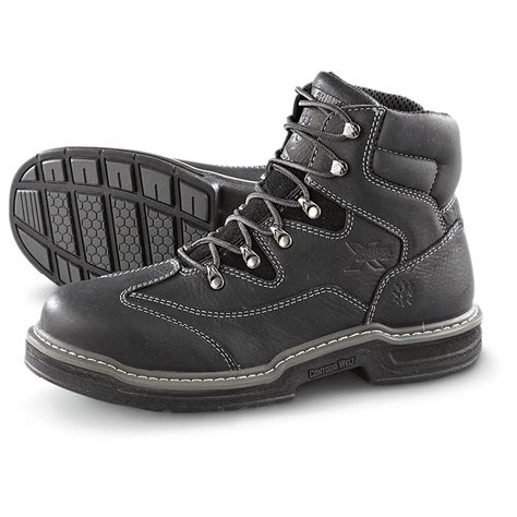 wolverine steel toe boots s wolverine 174 6 quot steel toe work boots with multishox