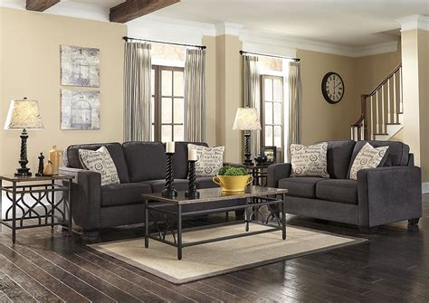 ashley alenya sofa review oak furniture liquidators alenya charcoal sofa loveseat