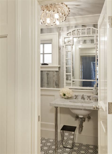 glamorous powder rooms la dolce vita