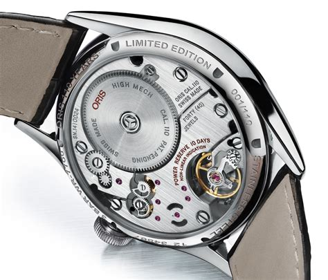 oris begins in house movement production with the
