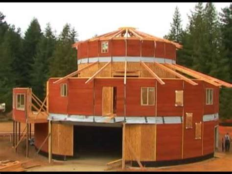 Floor Plans For Tiny Homes Building The Round House In Crescent City California Youtube
