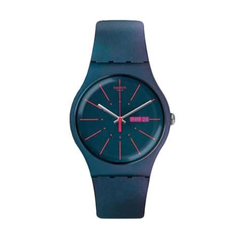 Jam Tangan Swatch Fashion Rubber 3 jual swatch suon708 jam tangan pria harga