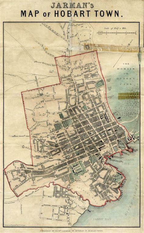 map of hobart city k block redevelopment rhh