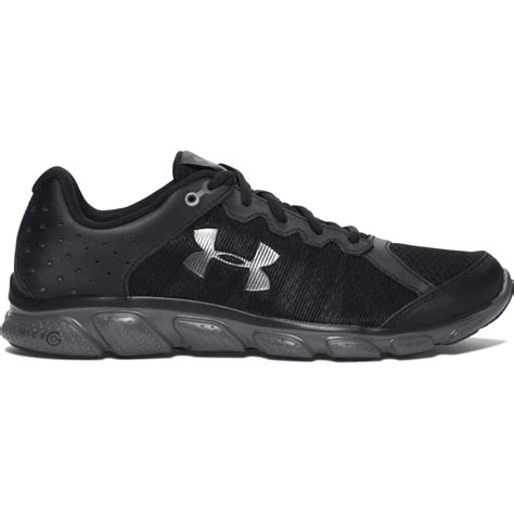 black armour shoes armour micro g assert 6 running shoe black