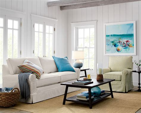 beachy sectional sofas beach style sofa slipcovered sectional sofa in traditional