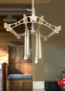 pulleymaid suspended wooden clothes airer traditional