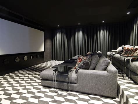 media room design best 25 home theater curtains ideas on home