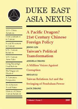 policy in the asian century concepts cases and futures international series on policy books volume 1 issue 1 duke east asia nexus