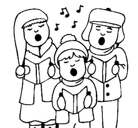 imagenes infantiles navideñas para colorear dibujo de canciones navide 241 as para colorear dibujos net