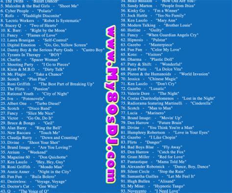 eighties house music 100 hits 80s classic