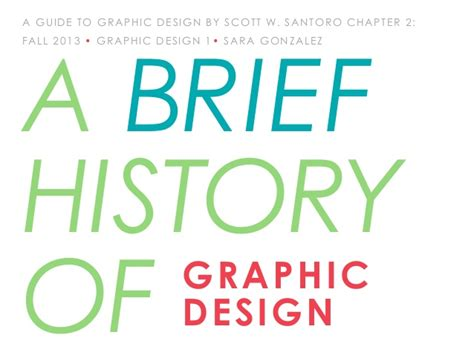 history of graphic design a brief history of graphic design