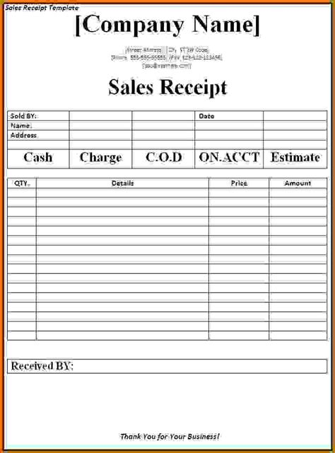 create a receipt template 11 how to make a sales invoice lease template