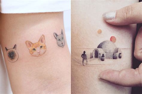 22 delicate little tattoos you ll want to get this year
