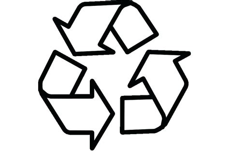 Reduce Reuse Recycle Symbol Printable