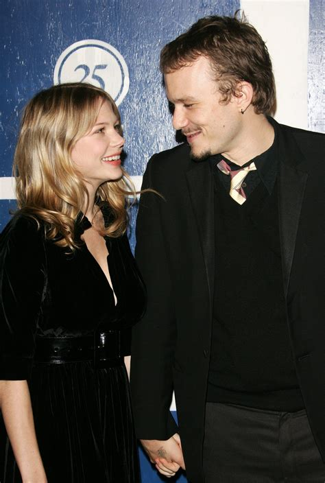 Did Heath Ledger And Williams Get Married by Williams Is Engaged To Andrew Youmans Simplemost