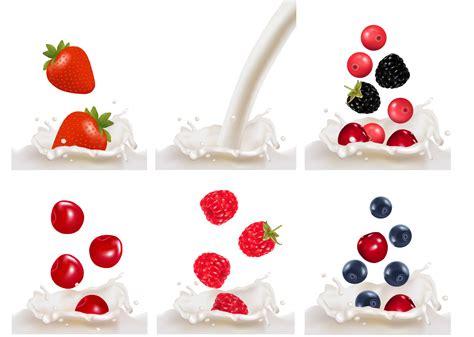 fruit milk fruit milk 01 vector free vector 4vector