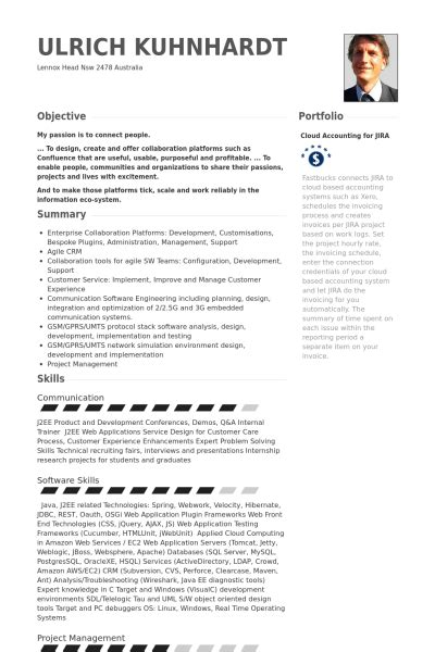 Resume Sles Of Java Developer D 233 Veloppeur Java Exemple De Cv Base De Donn 233 Es Des Cv De