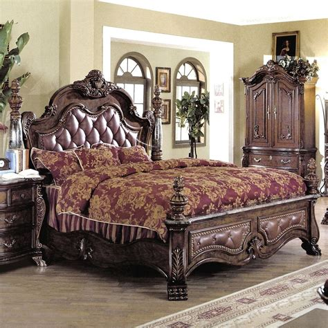 tufted leather bed elegance tufted leather sleigh bed suntzu king bed