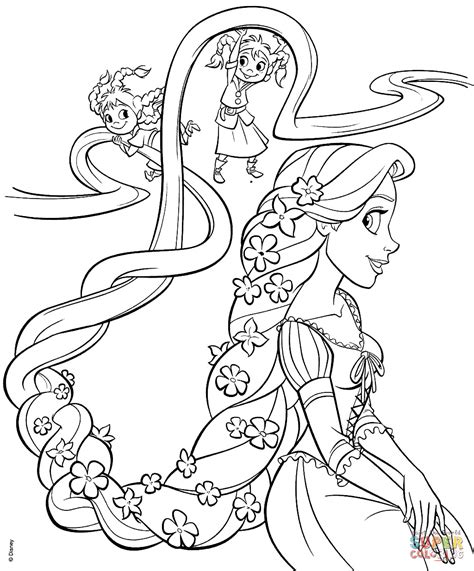 coloring pages of wallpaper rapunzel printable coloring pages collection 11 wallpapers
