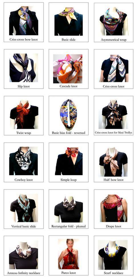 knot twist and drape scarf 25 best ideas about hermes scarves on pinterest