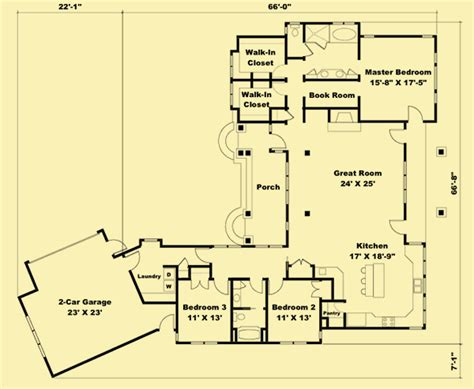 cozy cottage floor plans cottage plans country style 1 story with great rear view