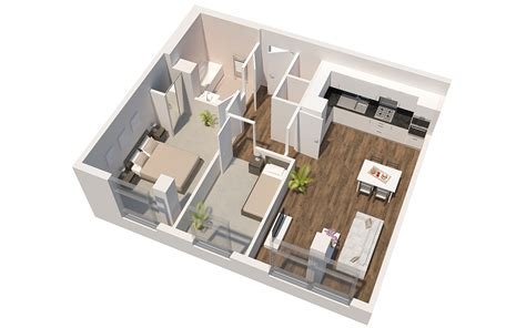 7 X 10 Bathroom Floor Plans by Apartment Plans The Panorama 1 And 2 Bedroom Apartments