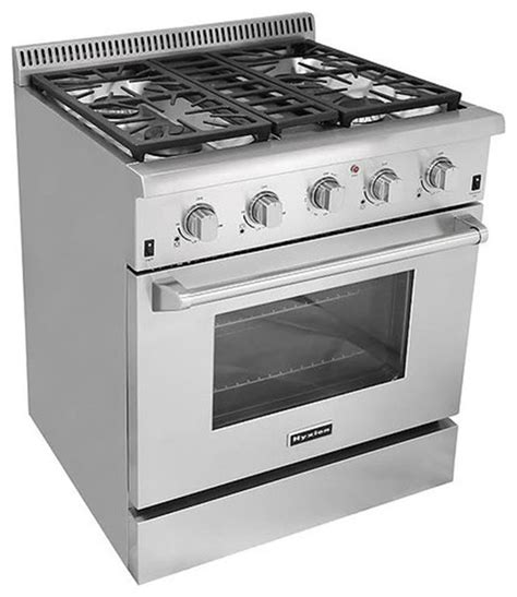 Kitchen Stove Gas by 30 Quot Professional Style Freestanding Stainless Steel 4 High