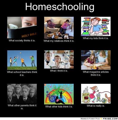 Home School Meme - homeschool humor still learning something new