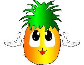 pineapple fruits clip art image 4987