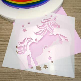 pattern for unicorn cake cake stencils cupcake stencils
